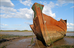 Very Old, Very Rusty Boat!