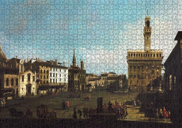 Bernardo Bellotto: Piazza della Signoria, Florence