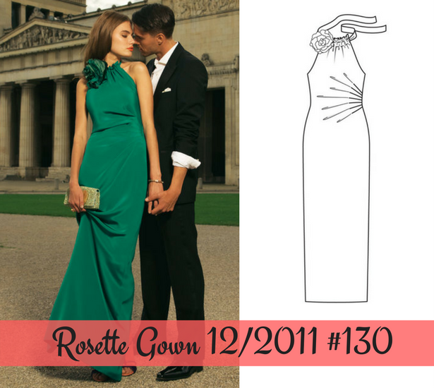 Rosette Gown