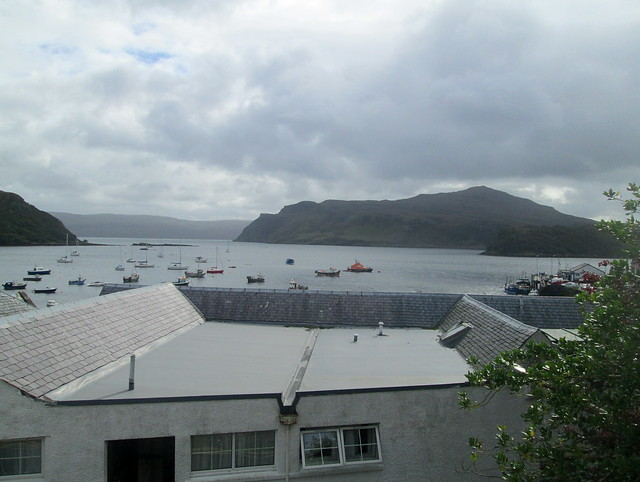 Portree, Isle of Skye, Looking Out To Raasay
