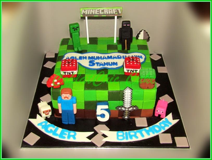 Cake Minecraft AGLER 20 cm
