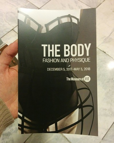 """The Body: Fashion and Physique"" #newyorkcity #newyork #museumatfit #fashionandphysique #pamphlet #latergram"