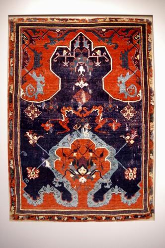 Ushak Prayer Carpet - The Cloud Band Ushak