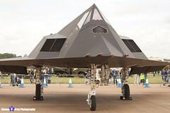 80-0788 - A.4013 - US Air Force - Lockheed F-117A Nighthawk - RIAT 2007 Fairford - 070714 - Steven Gray - IMG_6002