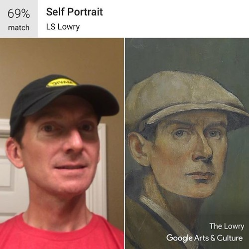 Does this artwork look like me? Try with your own #selfie at g.co/arts/selfie #GoogleArts