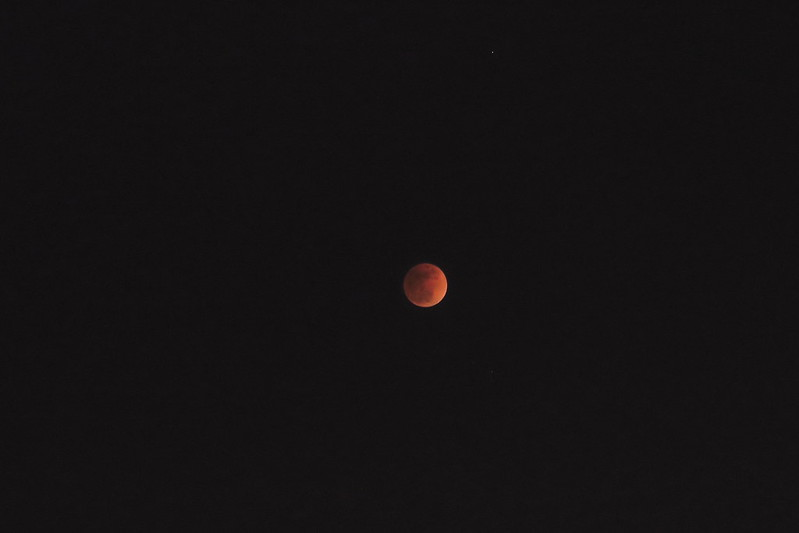「カリオストロの城」とSuper blue blood Moon@20180131