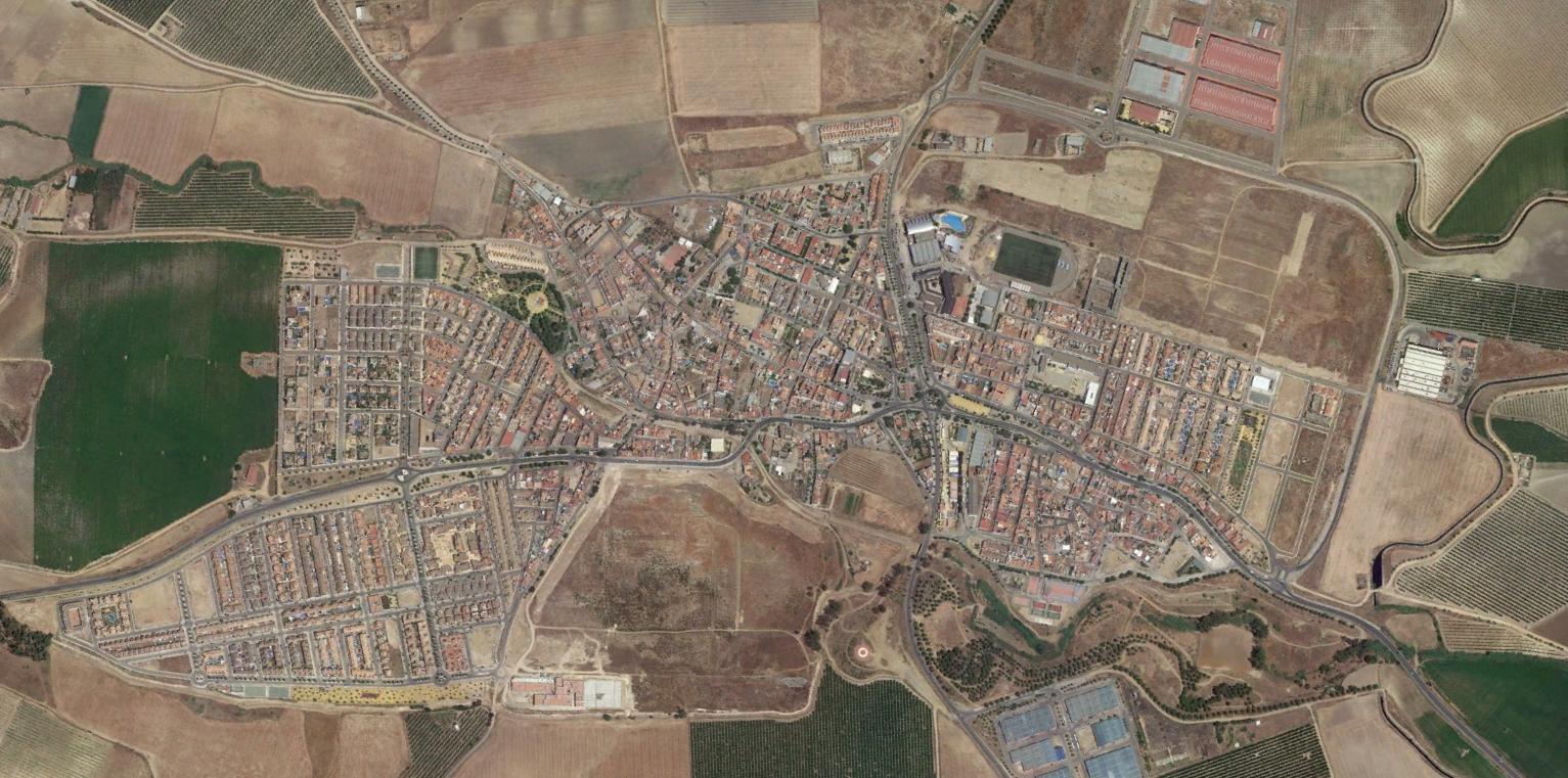 burguillos, sevilla, miquelinos, después, urbanismo, planeamiento, urbano, desastre, urbanístico, construcción, rotondas, carretera