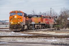 BNSF 6893 | GE ES44C4 | CN Memphis Subdivision