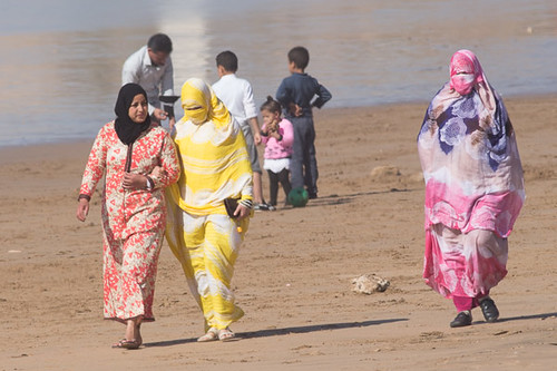 Morocco beach wear.