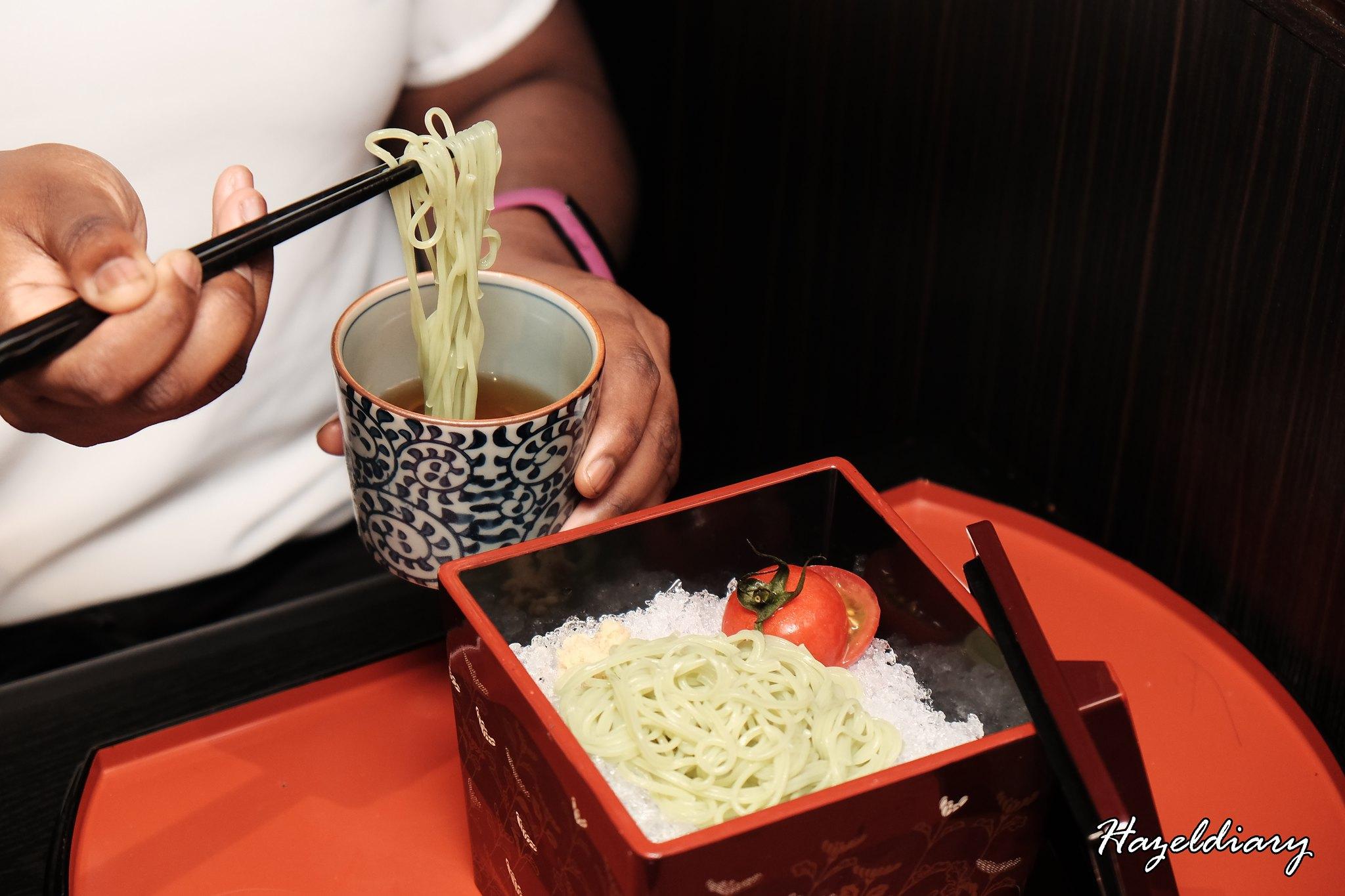 Shima Japanese Kaiseki Restaurant-Olive Noodles-1