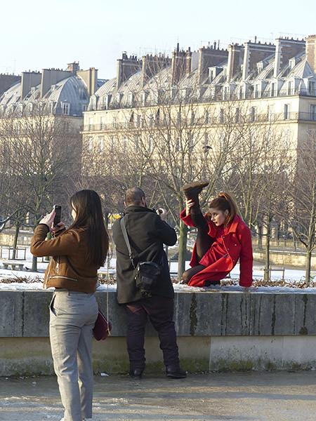 contorsions parisiennes