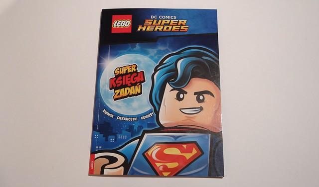 RECENZJA DC Comics Superksięga zadań 1