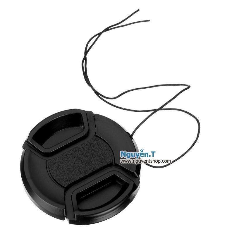 Lens cap nắp đậy bảo vệ ống kính máy ảnh phi 82mm