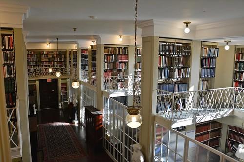 Boston Athenaeum library