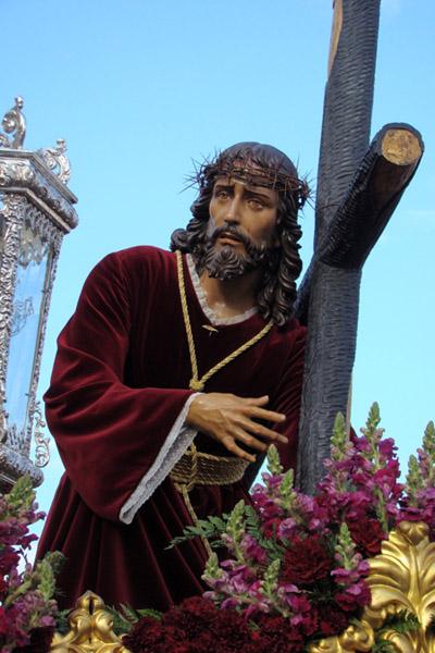 """Agrupación Parroquial de Nuestro Padre Jesús de las Tres Caidas y María Santísima de La Paz. """"Tres Caidas""""."""