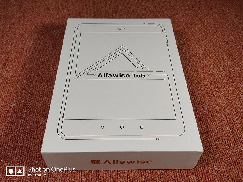 Alfawise Tab 開封レビュー (1)