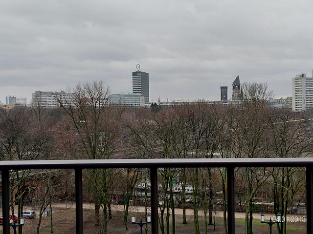 Vista do Novotel Am Tiergarten, Berlim