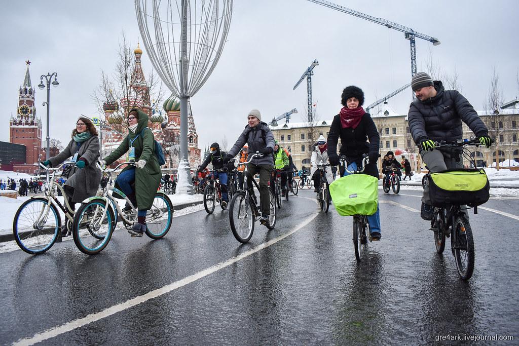 Москва прокатила велопарады активисты