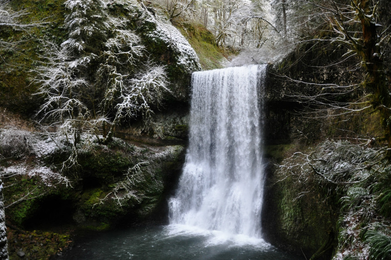 Silver Falls Snow 7 @ Mt. Hope Chronicles