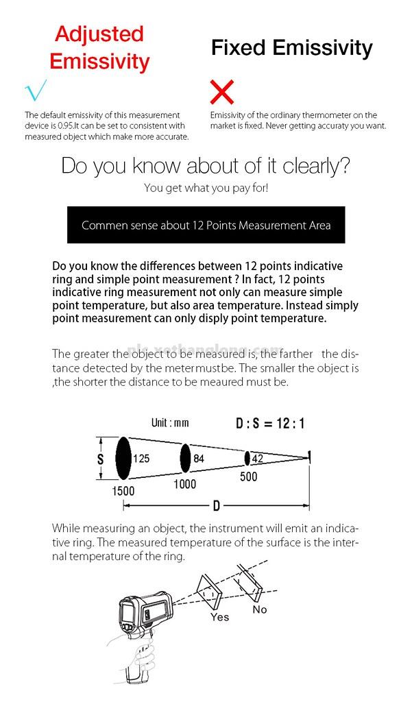 Cách sử dụng súng đo nhiệt độ từ xa bằng hồng ngoại đúng cách