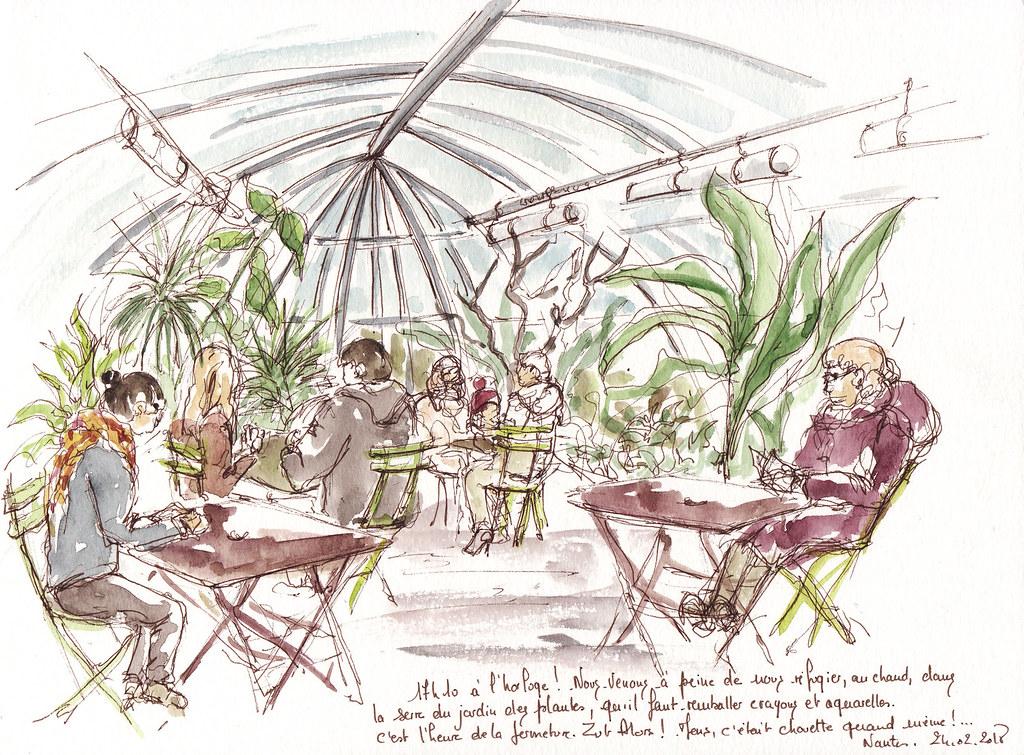 Serre Jardin Des Plantes. Simple Serres Du Jardin Des Plantes Vues ...