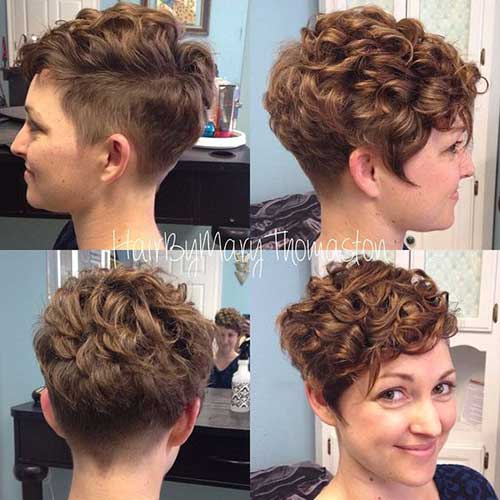 Short Curly Hairstyles For Women 2018 Trends Styles Art