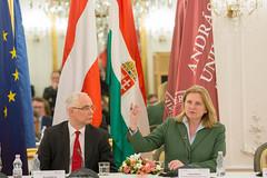 AM Kneissl Arbeitsbesuch Budapest
