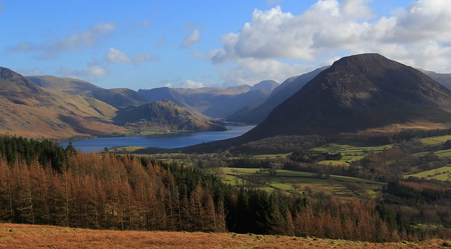 Lakes - View towards Buttermere & Crummock water 100315 (1)