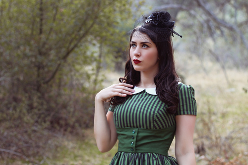 Vintage Inspired by Jackie Haunted Mansion disney bound Inspired Dress