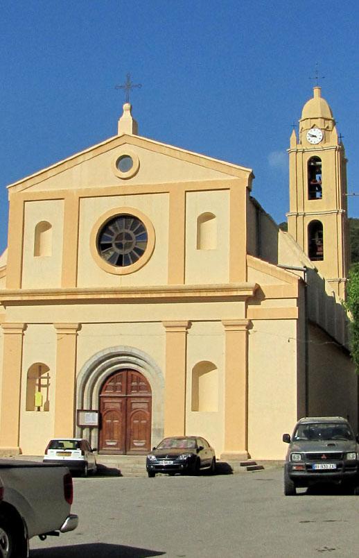 Eglise Olmeto