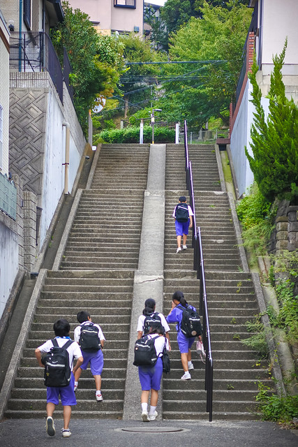 学校帰り, Nikon 1 J5, 1 NIKKOR 32mm f/1.2