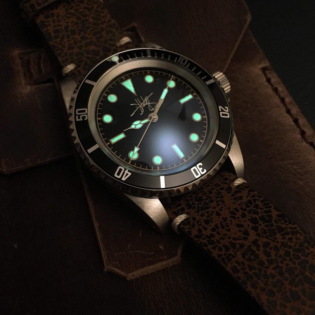 Dan Hodge 1016 hand built divers watch
