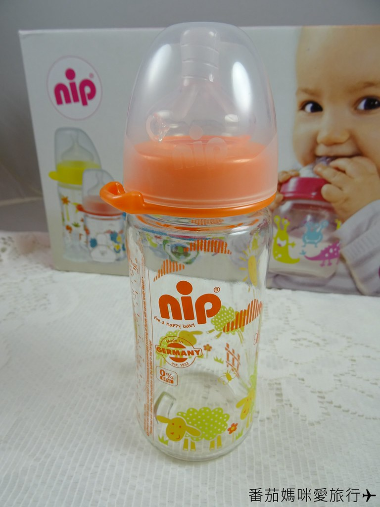 nip 德國防脹氣玻璃奶瓶 (5)