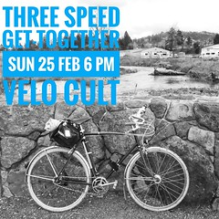 Three Speed Get-Together, 25 Feb 2018