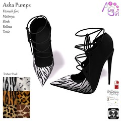 AvaGirl - Asha Pumps