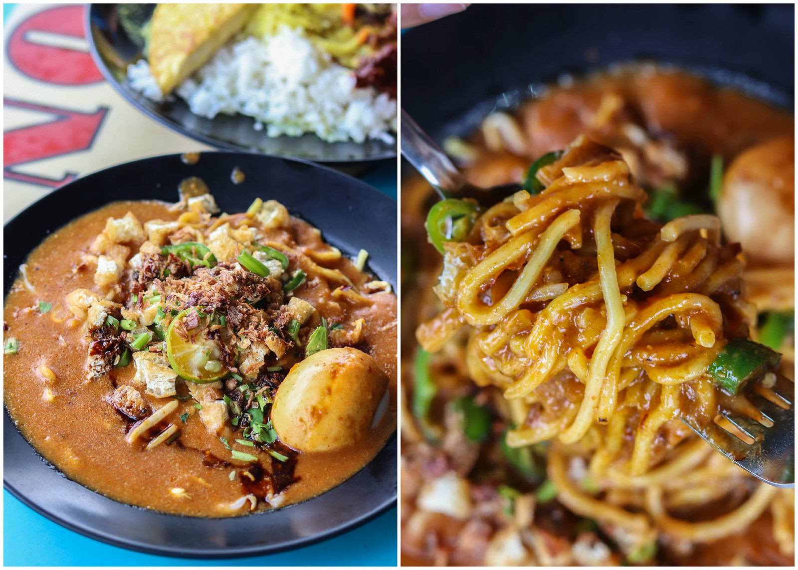 mee rebus collage