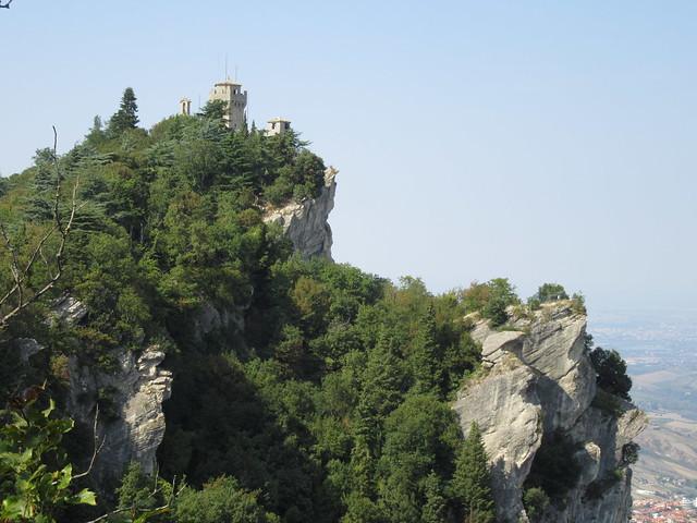 Seconda Torre (Cesta oder Fratta) auf dem Monte Titano