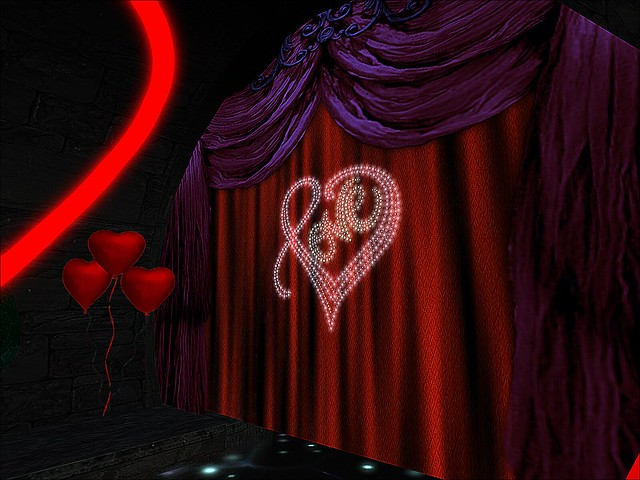 Tunnel of Love Ride - Curtain of Love