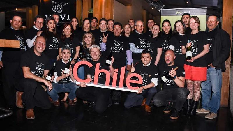 Movimiento de Viñateros Independientes (MOVI) presentaron sus vinos en Colombia