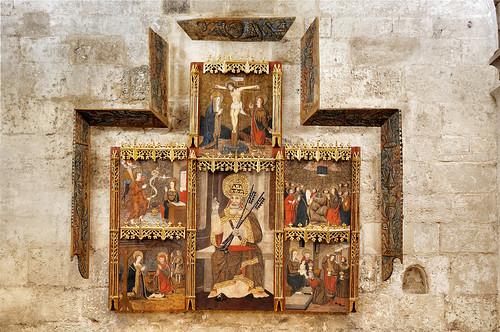 Altarpiece of San Pedro: Siglo XIV-XV
