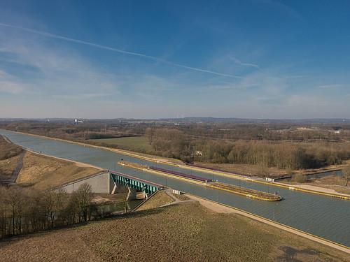Kanalbrücke über die Lippe