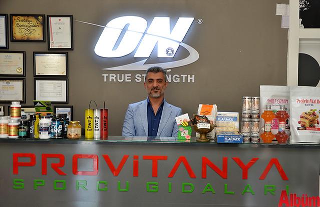 Provitanya Sporcu Gıdaları sahibi Murat Çakır-2