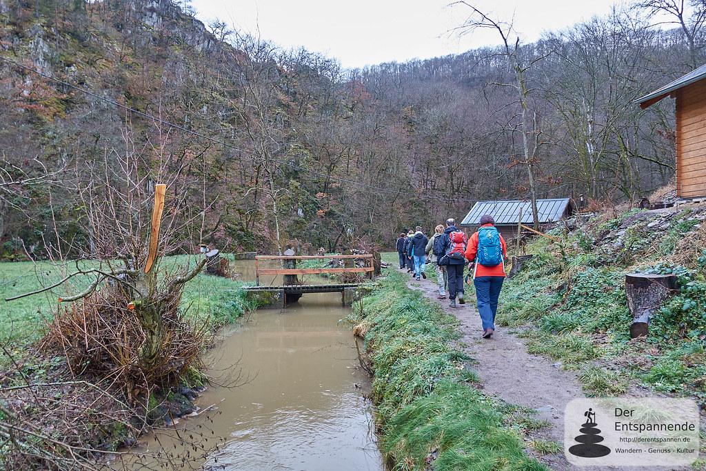Wandertag: Von der Strotzbüscher Mühle und dem Mühlenbach geht es los