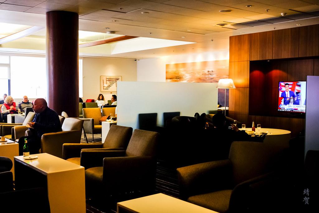 Inside the Qantas Lounge