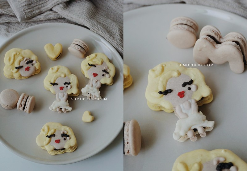 Citaten Marilyn Monroe Recipe : Marilyn monroe macaron recipe sumopocky handcrafted bakes