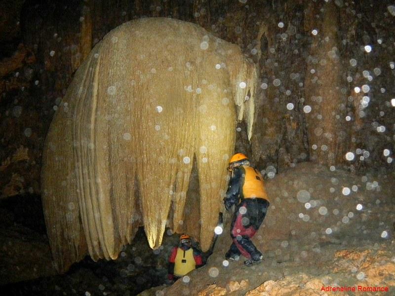Giant flowstone