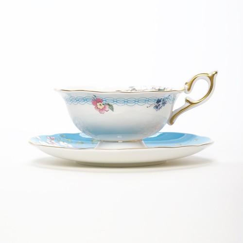 Tasse anglaise de Wedgwood Apple Blossum