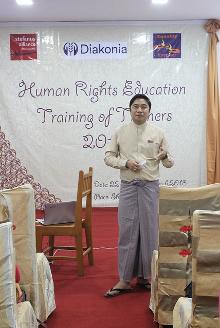 Human Rights Education Training of Trainer 2018