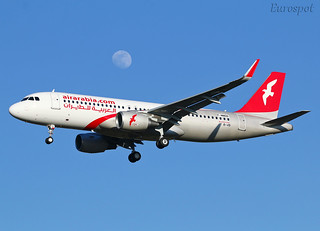 F-WWDO Airbus A320 Air Arabia