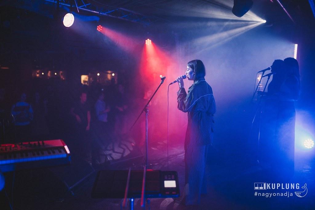 Concert au Kuplung, bar étudiant à Budapest - Photo Kuplung